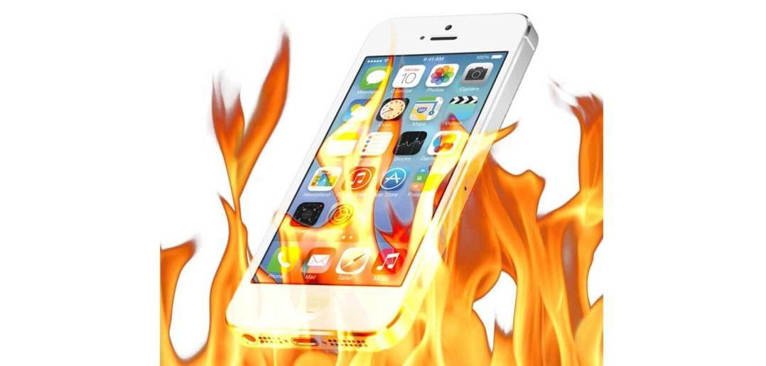 why does my iphone get hot my battery drains too the fix. Black Bedroom Furniture Sets. Home Design Ideas