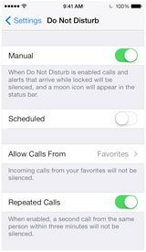 Why Does My iPhone Not Ring? Turn Off Do Not Disturb