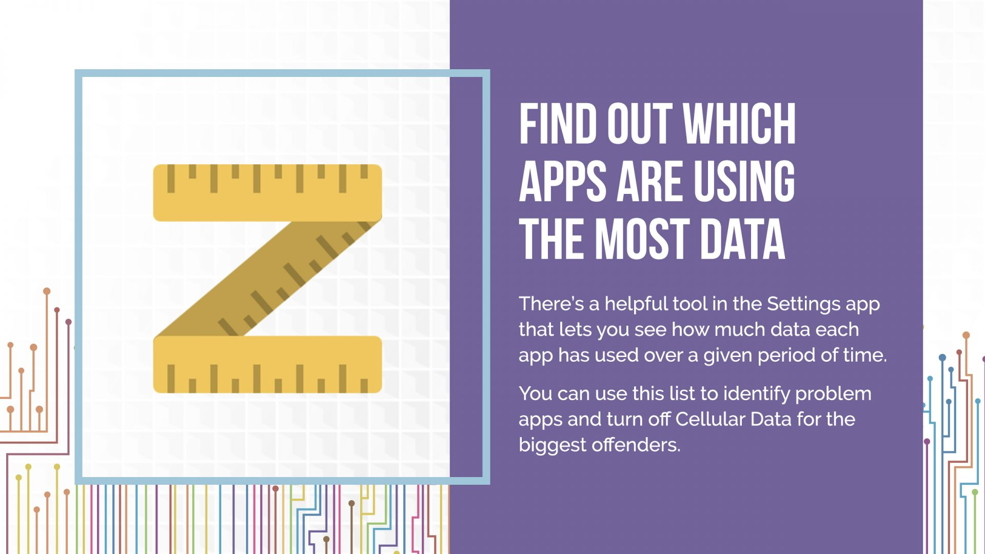apps with the most data in iphone