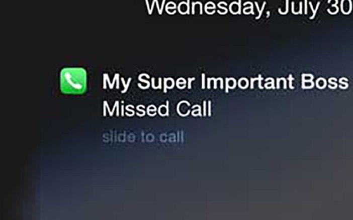 My iPhone Won't Ring