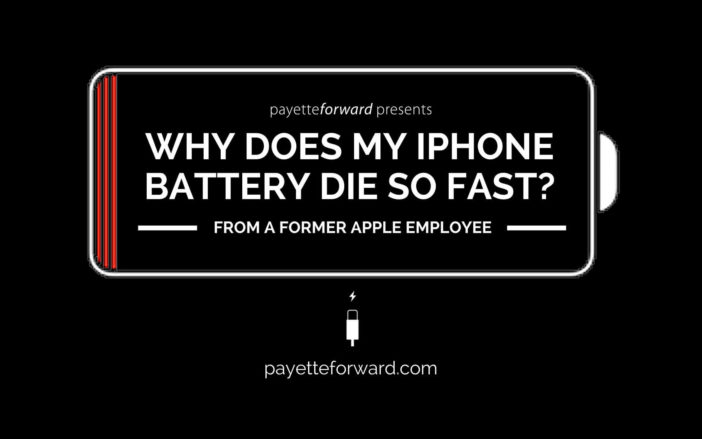Why Does My iPhone Battery Die So Fast?