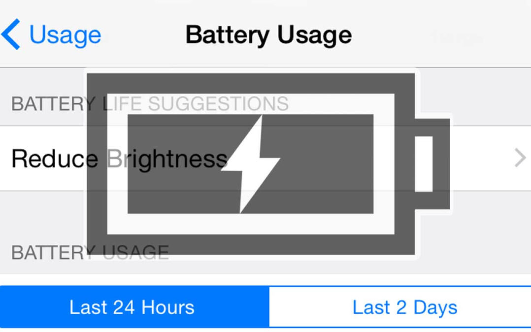 iPhone 6 Battery Draining Fast