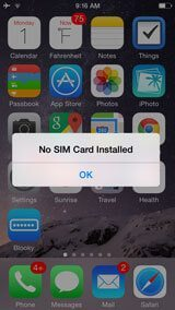 iphone says no sim why does my iphone say no sim card here s the real fix 2533
