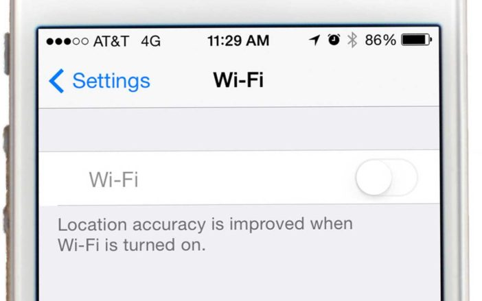 Why Is Wi-Fi Grayed Out On My iPhone?
