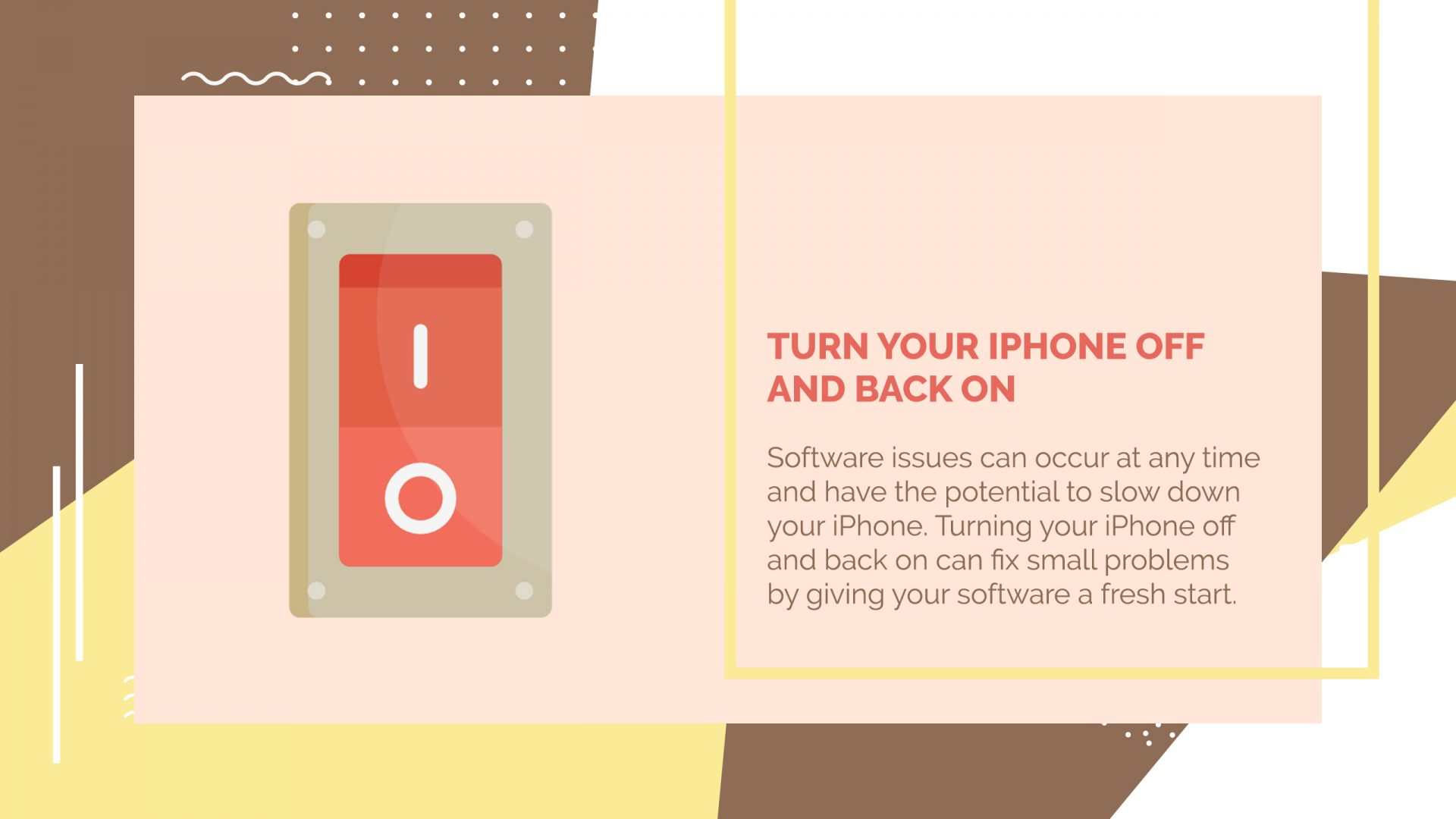 how to turn on my iphone 5
