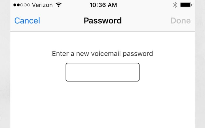 My iPhone Voicemail Password Is Incorrect