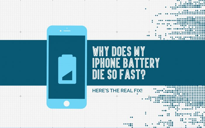 Why Does My iPhone Battery Die So Fast? Here's The Real Fix!