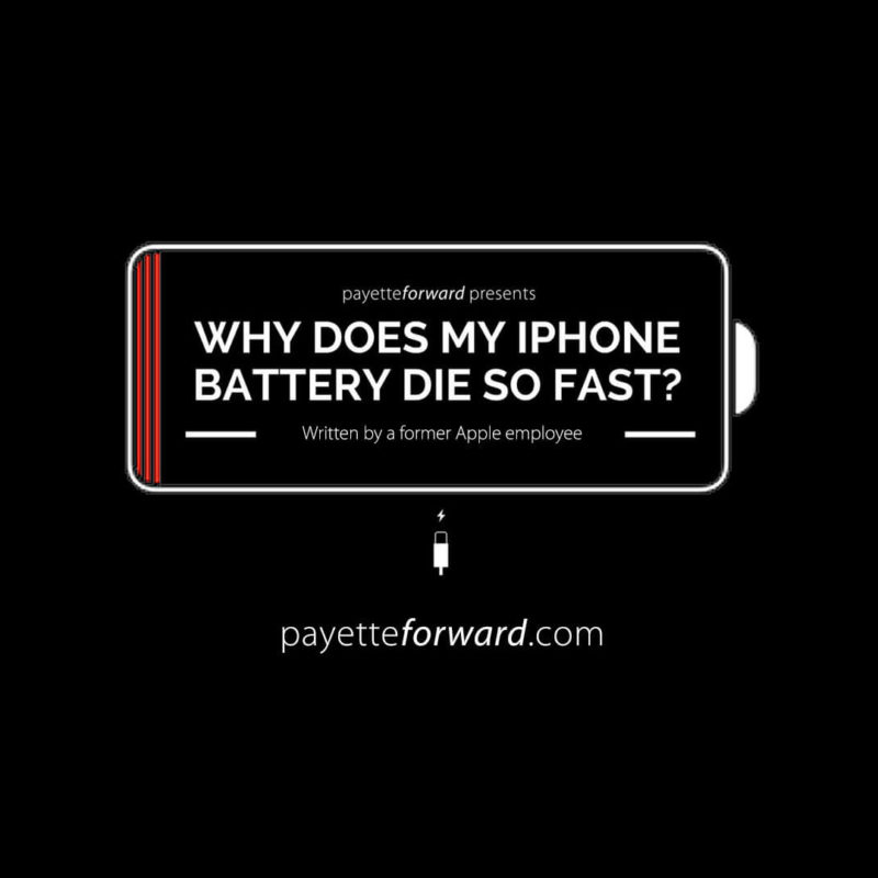 Why Iphone Battery Drains Fast