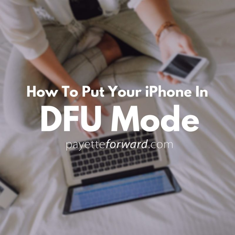how to put iphone in dfu mode how to put an iphone in dfu mode the apple way 2374