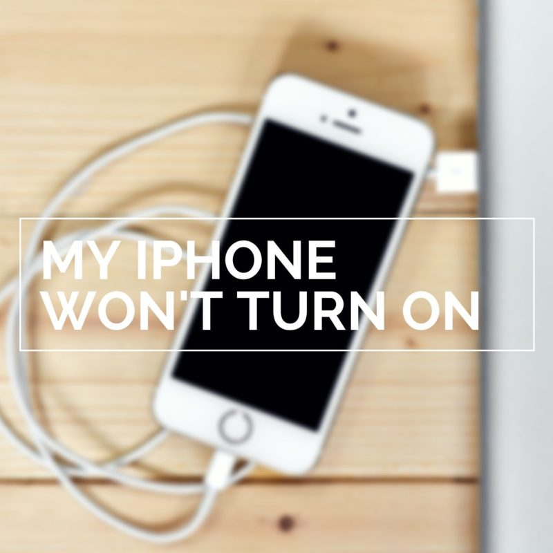 what to do when iphone wont turn on my iphone won t turn on here s the real fix 1271