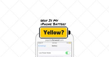 Why Is My iPhone Battery Yellow? Here's The Fix.
