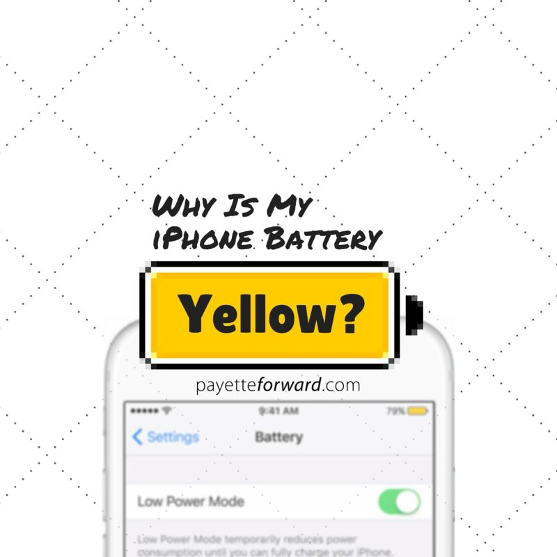 why does my iphone battery die so fast why is my iphone battery yellow here s the fix 21253