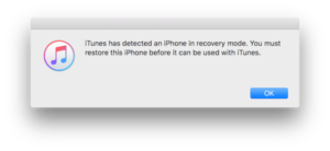 itunes-detected-recovery-mode