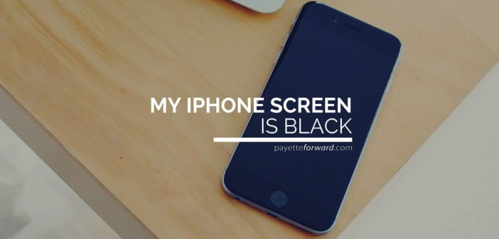 My iPhone Screen Is Black