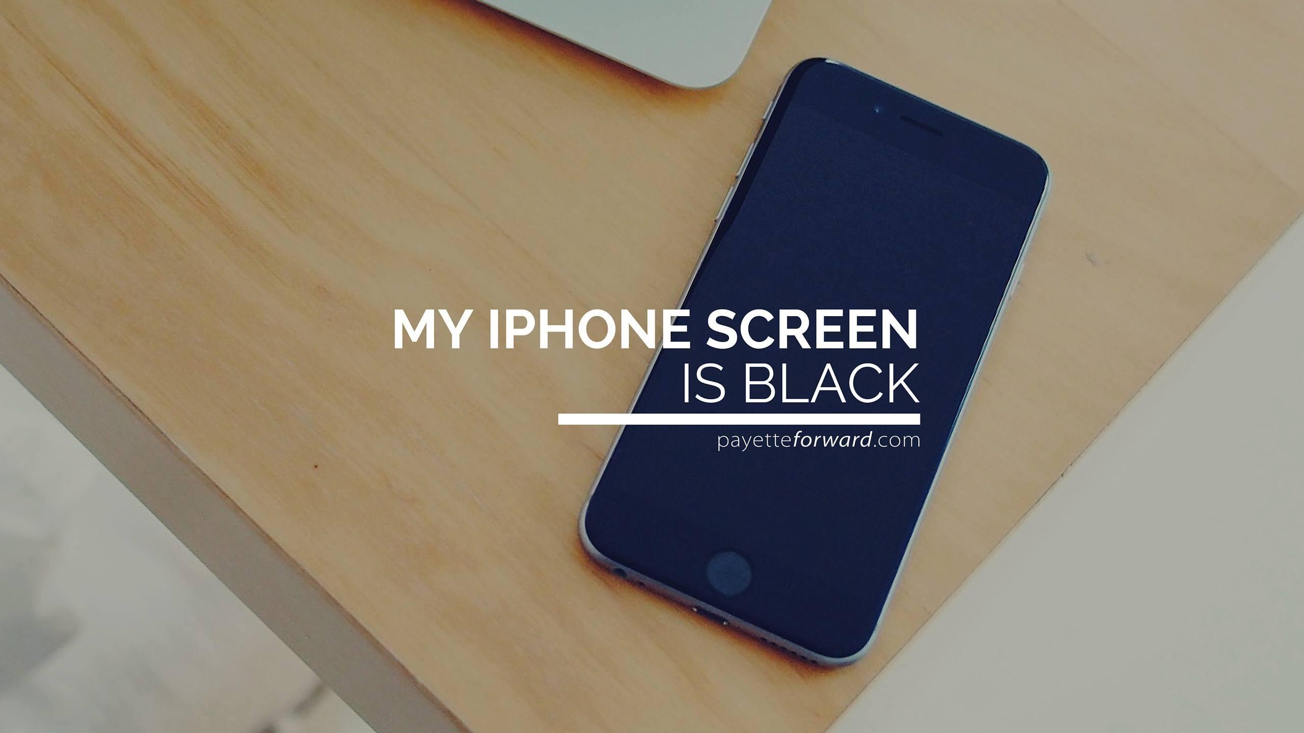 Iphone  Screen Freeze Fix
