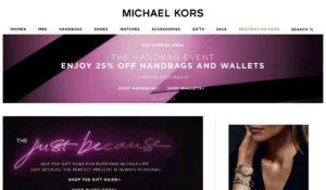 Michael Kors Website