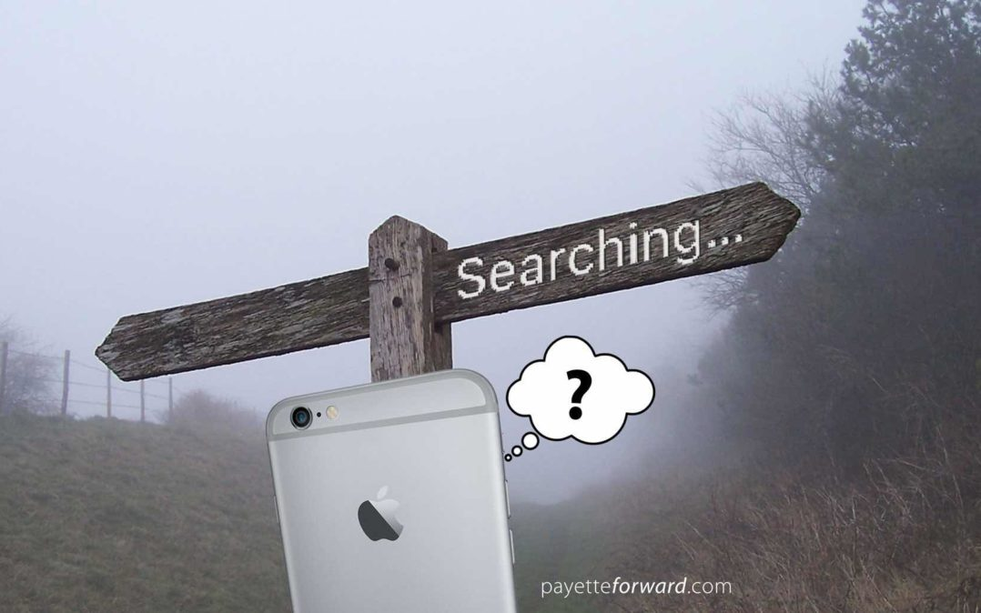 why is my iphone searching why does my iphone say searching here s the fix 18254
