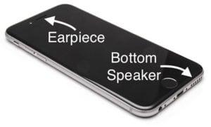 iPhone Earpiece and Bottom Speaker