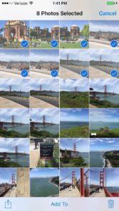 delete photos camera roll