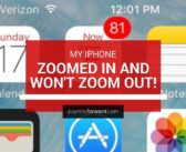 My iPhone Zoomed In And Won't Zoom Out. Here's The Fix!