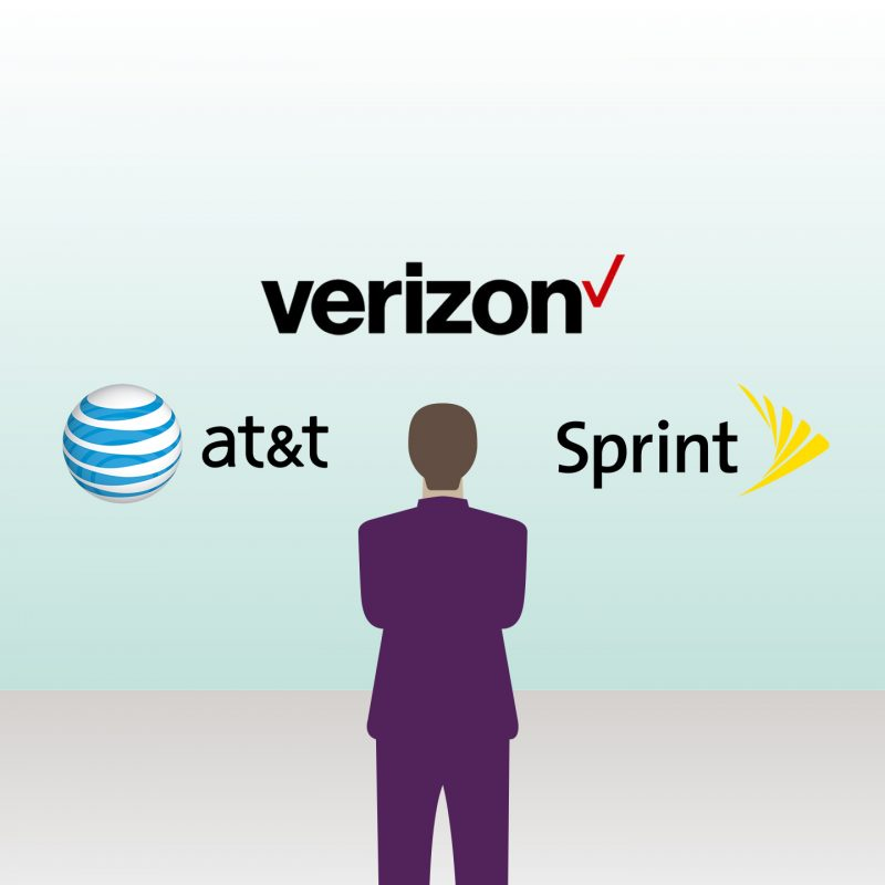 Best Single Cell Phone Plans In 2016 Verizon At T Sprint