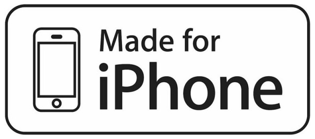 Made for iPhone MFi-certified logo