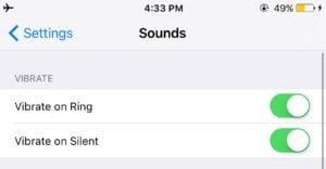vibration settings iphone my iphone doesn t vibrate here s the real fix 6271