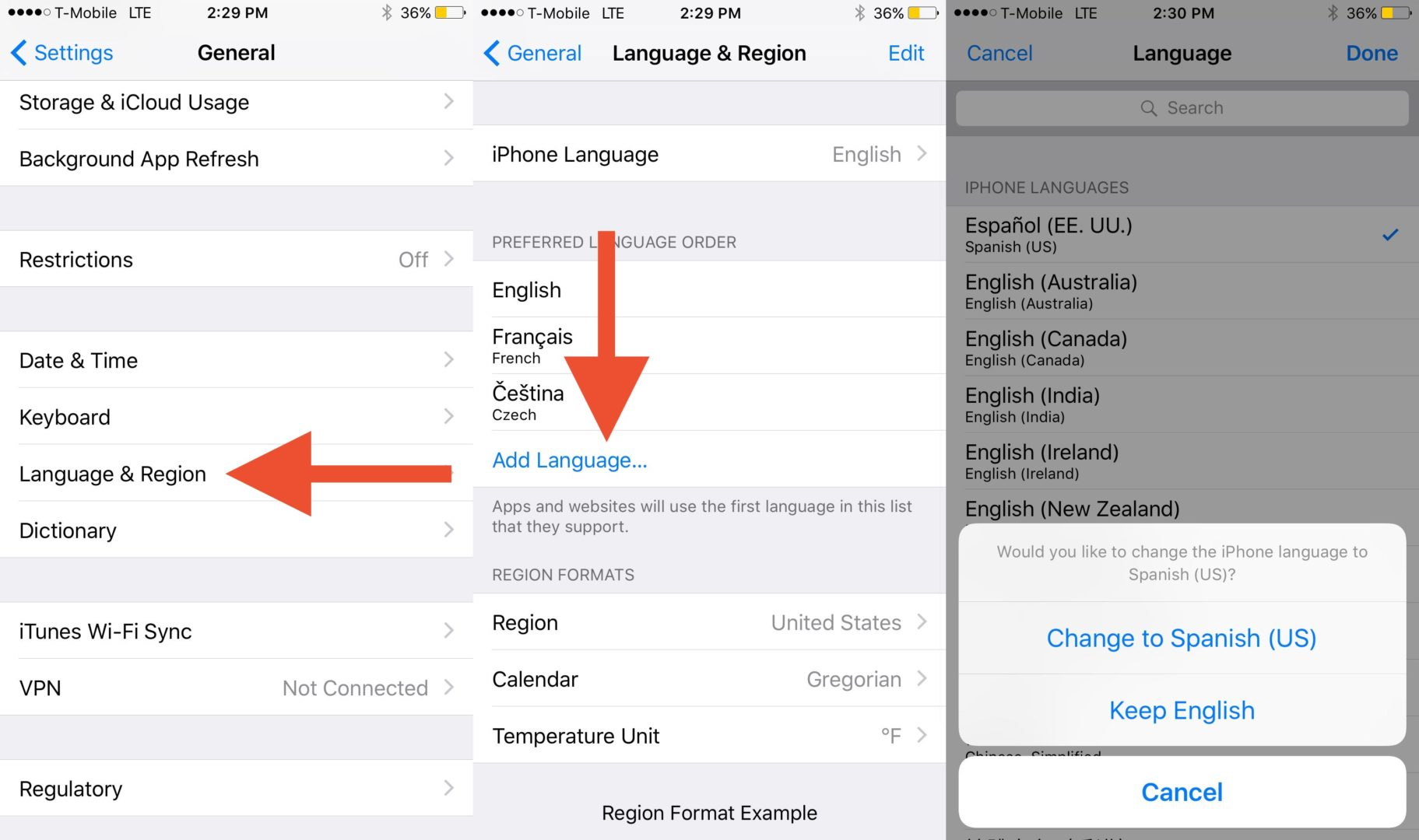 Adding additional languages to an iPhone