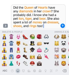 emoji-capable-words