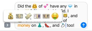 emoji-choices-for-money