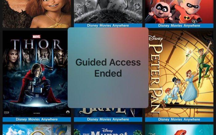 Guided Access and Parental Controls on iPhone