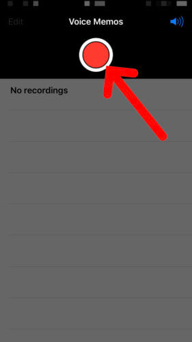 use voice memos to test iPhone mic