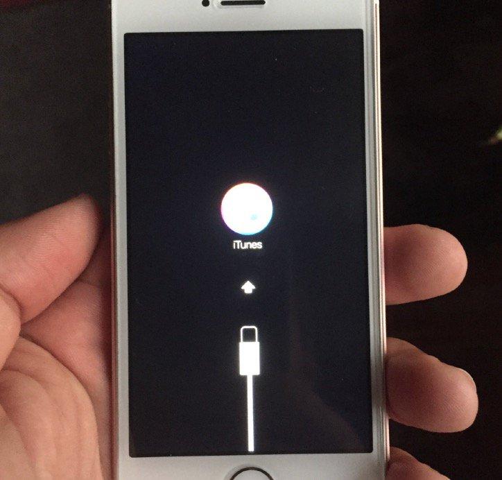 iOS 10 update bricked iPhone