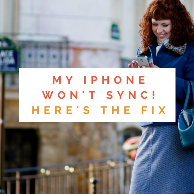 my iphone wont make sound my iphone won t sync here s the real fix 17853