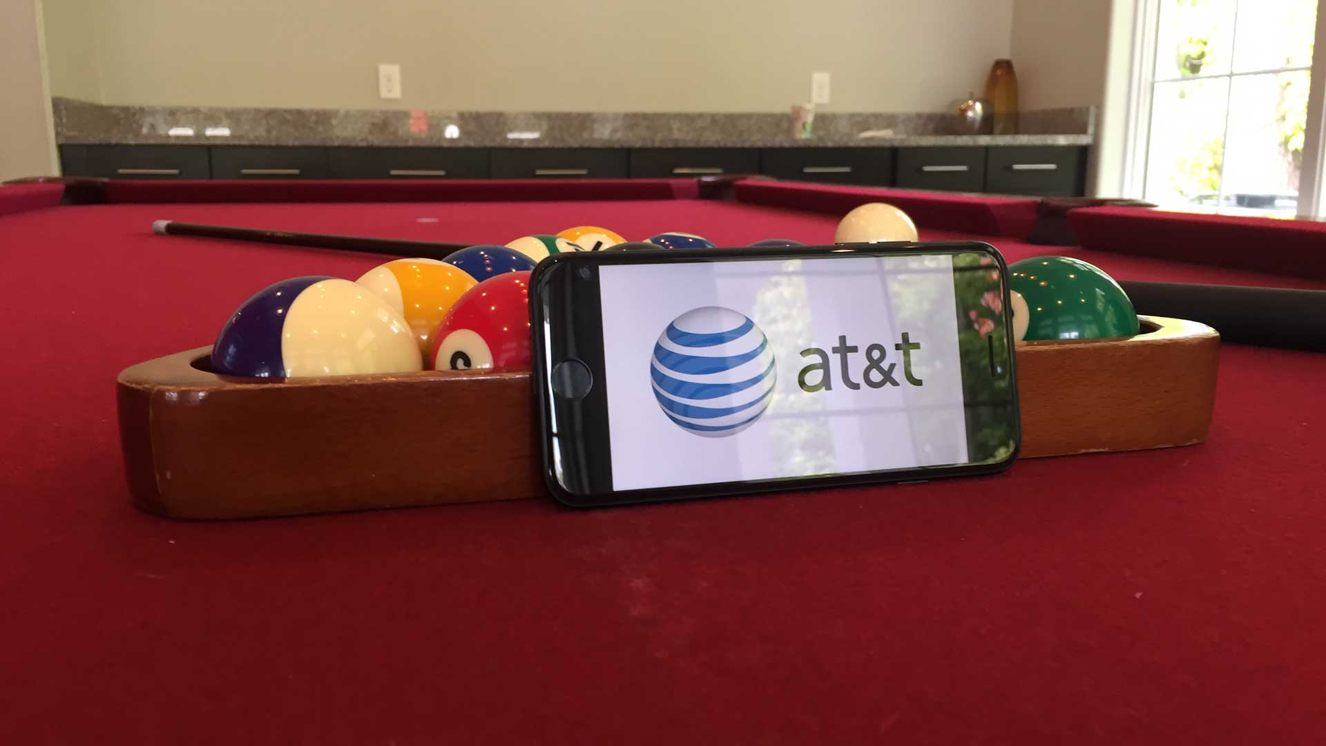 AT&T Pool Table