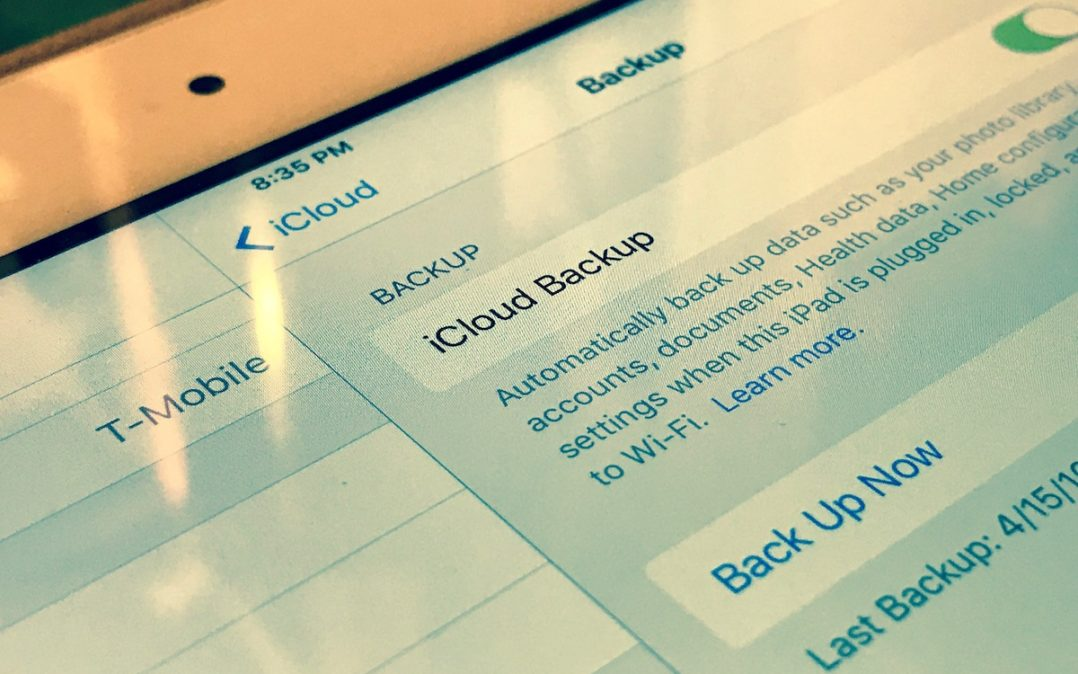 iPhone Won't Backup To iCloud