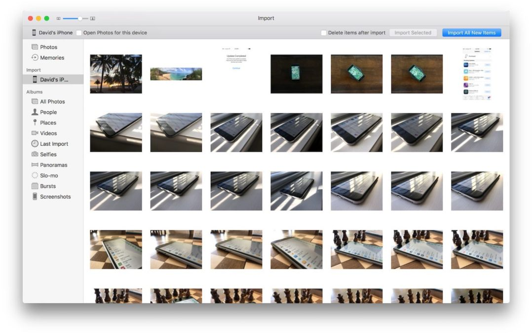 import all photos from iphone to mac how to transfer pictures from iphone to computer the best 20479