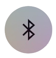 Bluetooth icon off control center