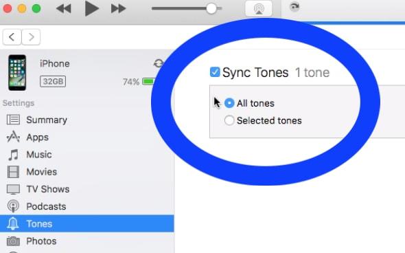 sync tones