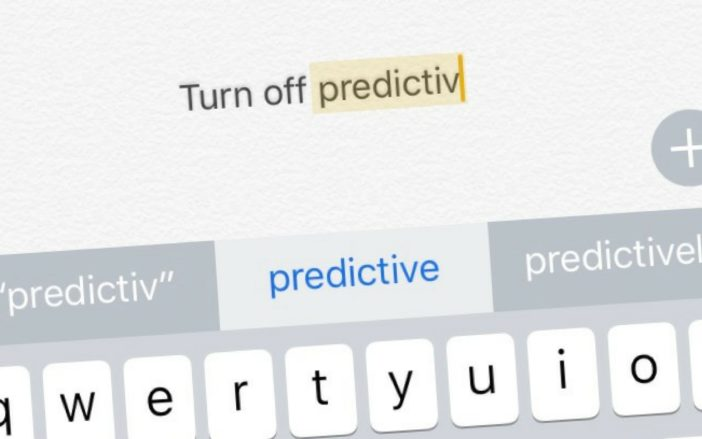 How Do I Turn Off Predictive Text On An iPhone?