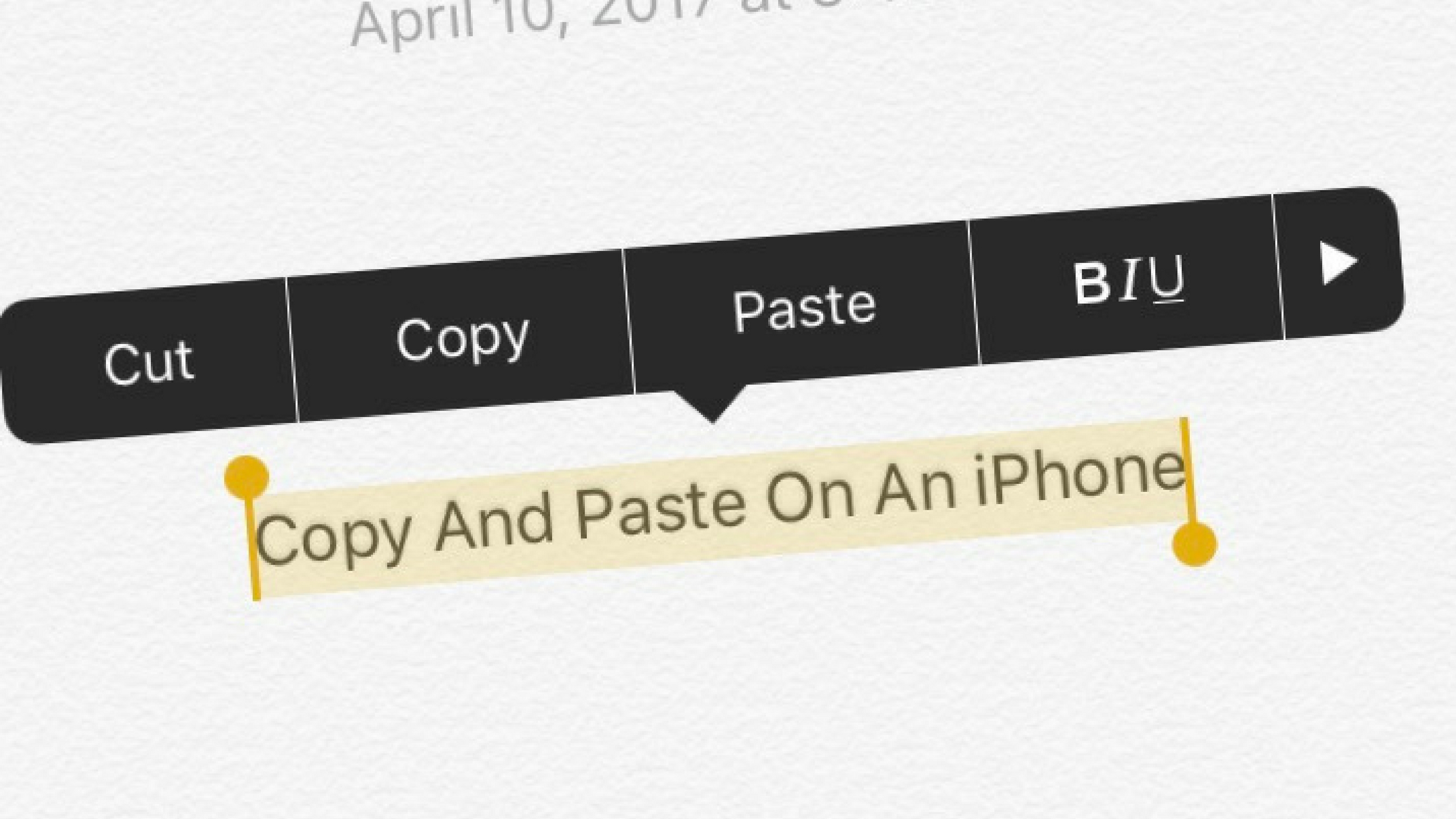 how to copy and paste on an iphone everything you need to