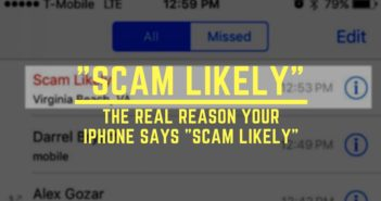 """My iPhone Says """"Scam Likely"""": Here's Why It Happens!"""