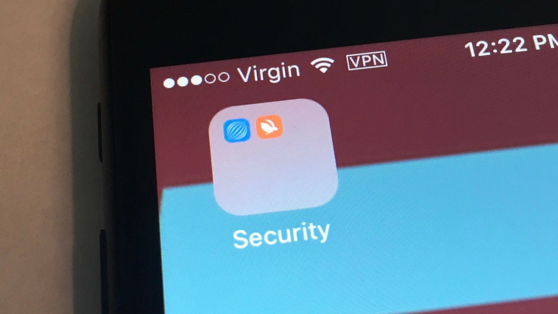VPN on iPhone