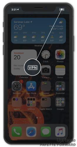 vpn on iphone ios 14