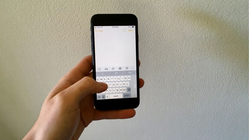 How Do I Turn On The One-Handed Keyboard On An iPhone? The Fix!