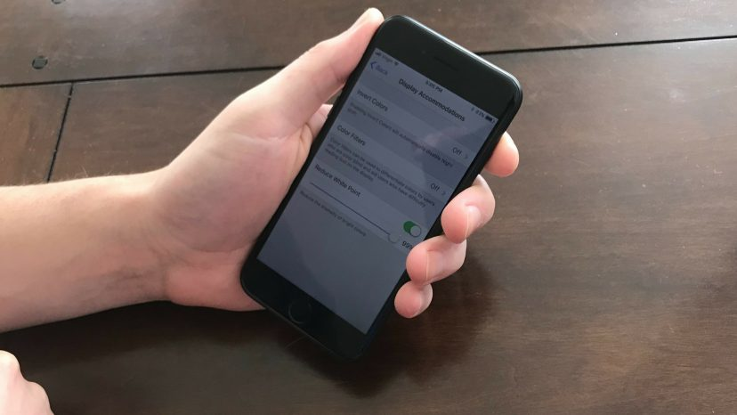 iPhone Screen Tip How To Make The iPhone Display Darker