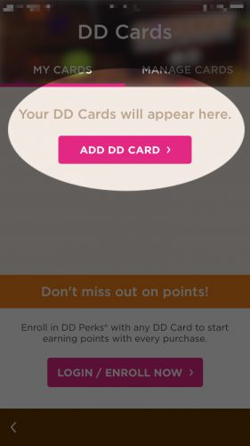 add dunkin donuts card to wallet iphone