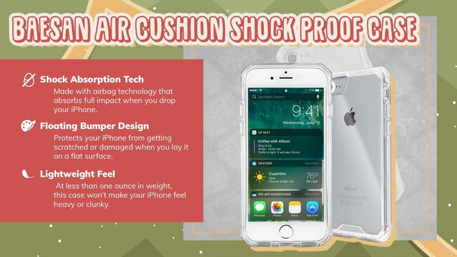 baesan air cushion iPhone case