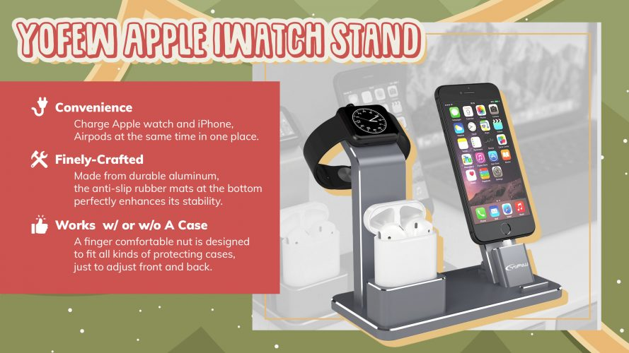 apple iwatch stand