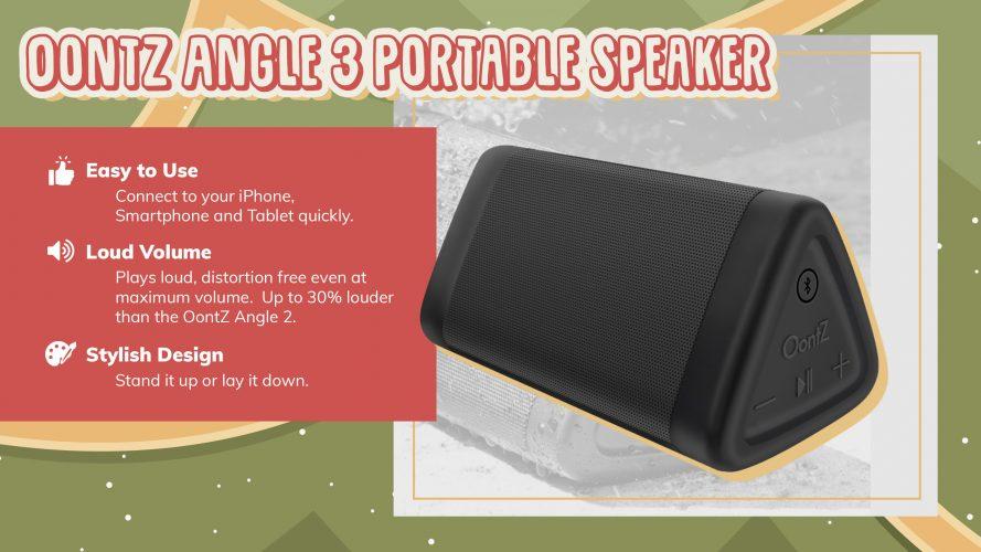 angle portable speaker